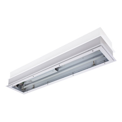 Recessed Fluorescent Fitting